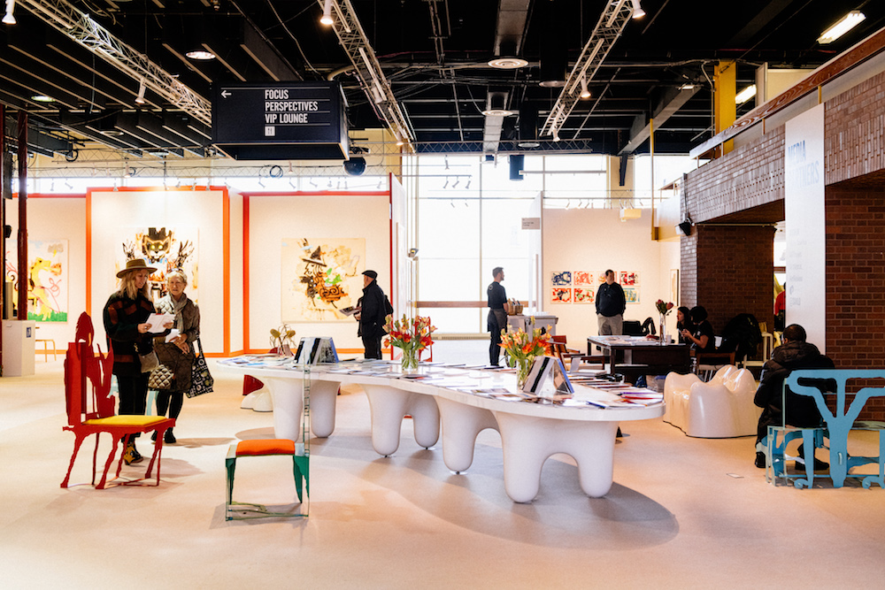 The 2020 Armory Show in New York. Photo by Teddy Wolff. Image courtesy The Armory Show.