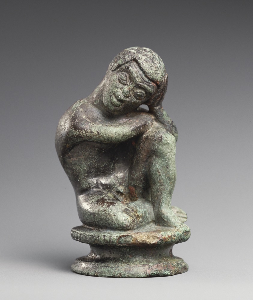 Statuette of a Seated Black African Boy, 450-425 BC, Etruscan. Bronze. The J. Paul Getty Museum, Gift of Barbara and Lawrence Fleischman. Image: Bruce White Photography