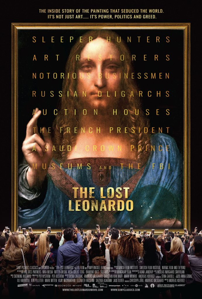 The Last Leonardo, directed by Andreas Koefoed. Photo courtesy of Sony Pictures.