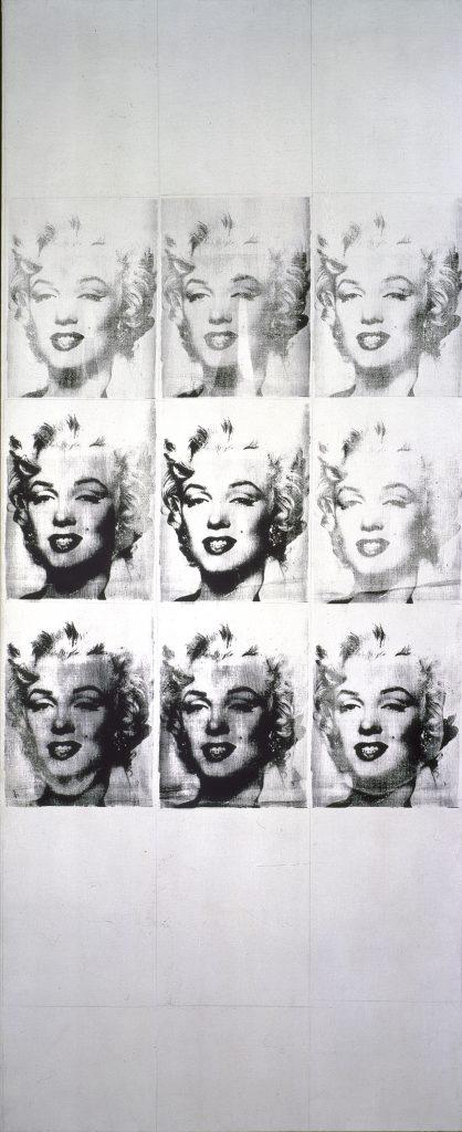 Andy Warhol, <i>Marilyn (9 Times) [Nine Marilyns<i> (1962). Photo: Richard Gray Gallery.