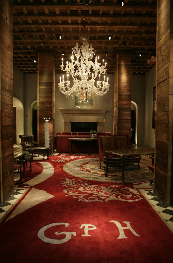 Gramercy Park Hotel lobby. (Photo by Marianna Massey/Corbis via Getty Images)