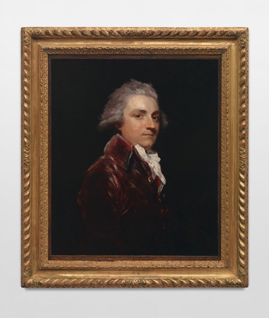 Joshua Reynolds, <i>Wilson Gale Braddyll</i> (1788). Oil on panel. Collection of Julian Opie.