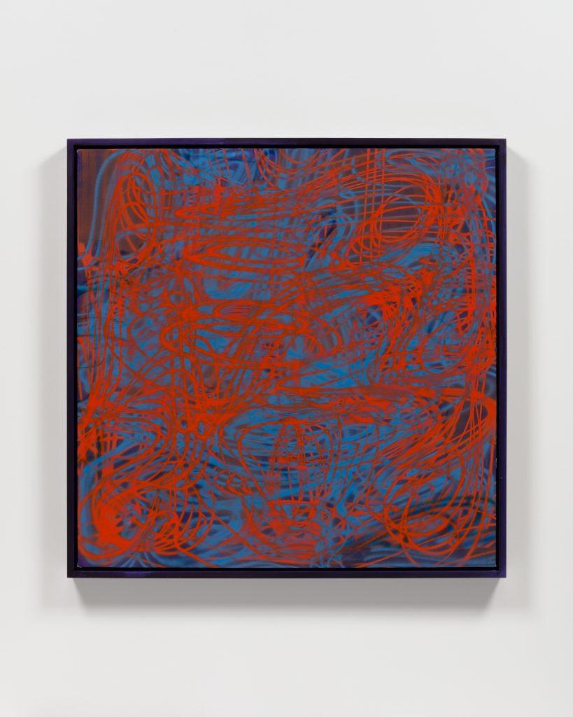 Keltie Ferris, <i>Untitled</i>, 2021. Courtesy of the artist and Morán Morán.