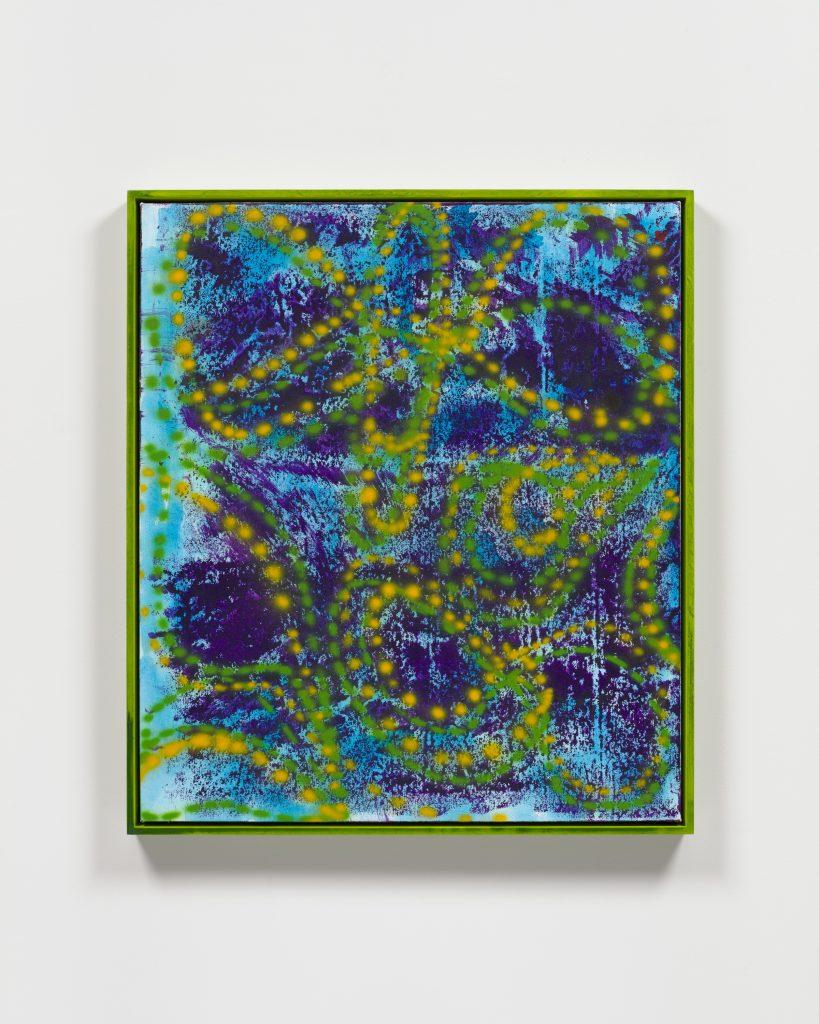 Keltie Ferris, <i>Butterfly Paths</i>, (2021). Courtesy of the artist and Morán Morán.