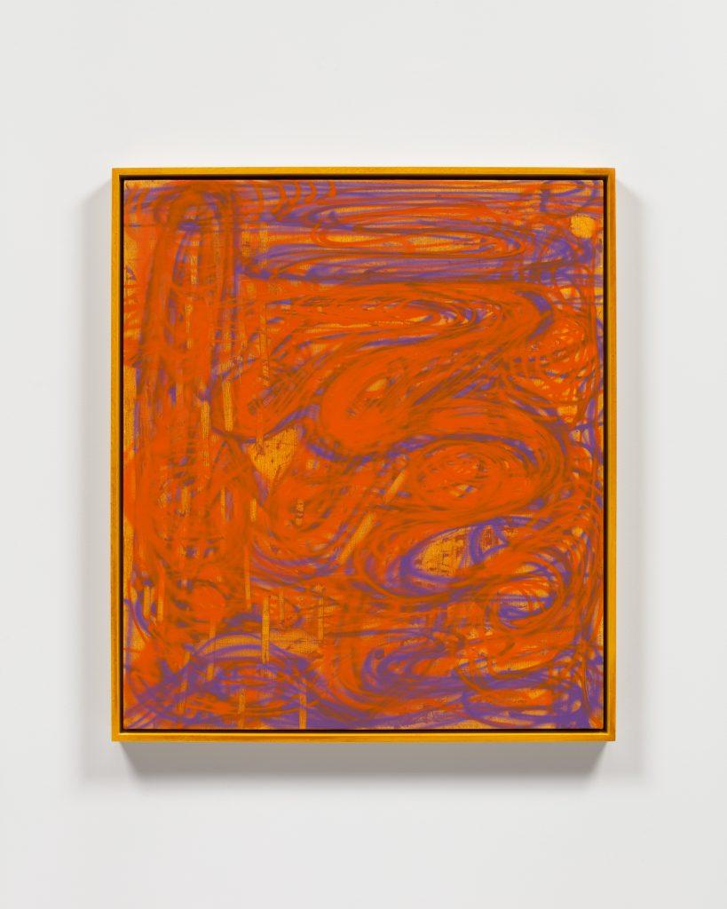 Keltie Ferris, <i>Glow Down</i>, 2021. Courtesy of the artist and Morán Morán.