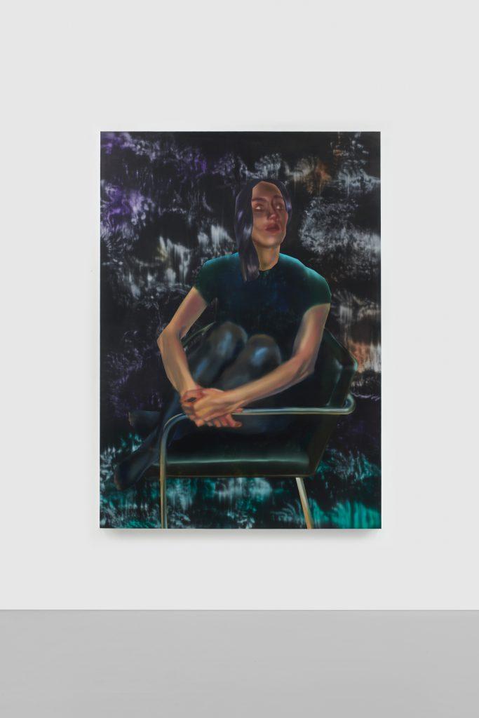 Rute Merk, Ellee (2021). Courtesy of the artist and Downs & Ross, New York. Photo: Phoebe D'Heurle