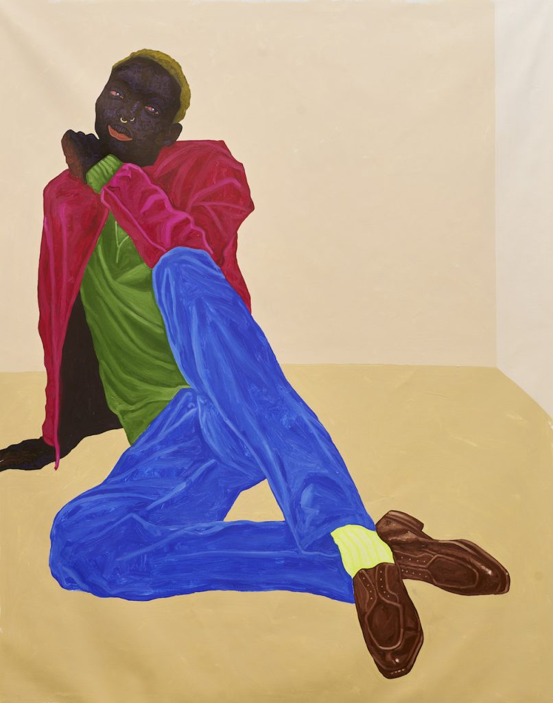 Kwesi Botchway, Non Binary (2021). Image courtesy the artist and Gallery 1957, Ghana.