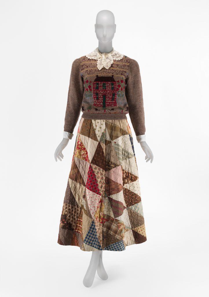 Ensemble, Ralph Lauren FW 1982-83. Image © Metropolitan Museum of Art.