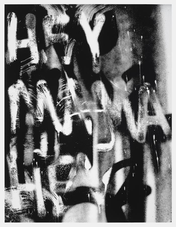 Adam Pendleton, Untitled (HEY MAMA HEY) (2021). Image courtesy of the artist.