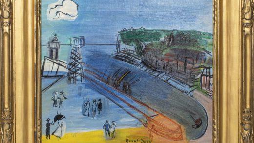 Raoul Dufy, L'entrée du port à Sainte-Adresse (circa 1950). Courtesy of Showplace.