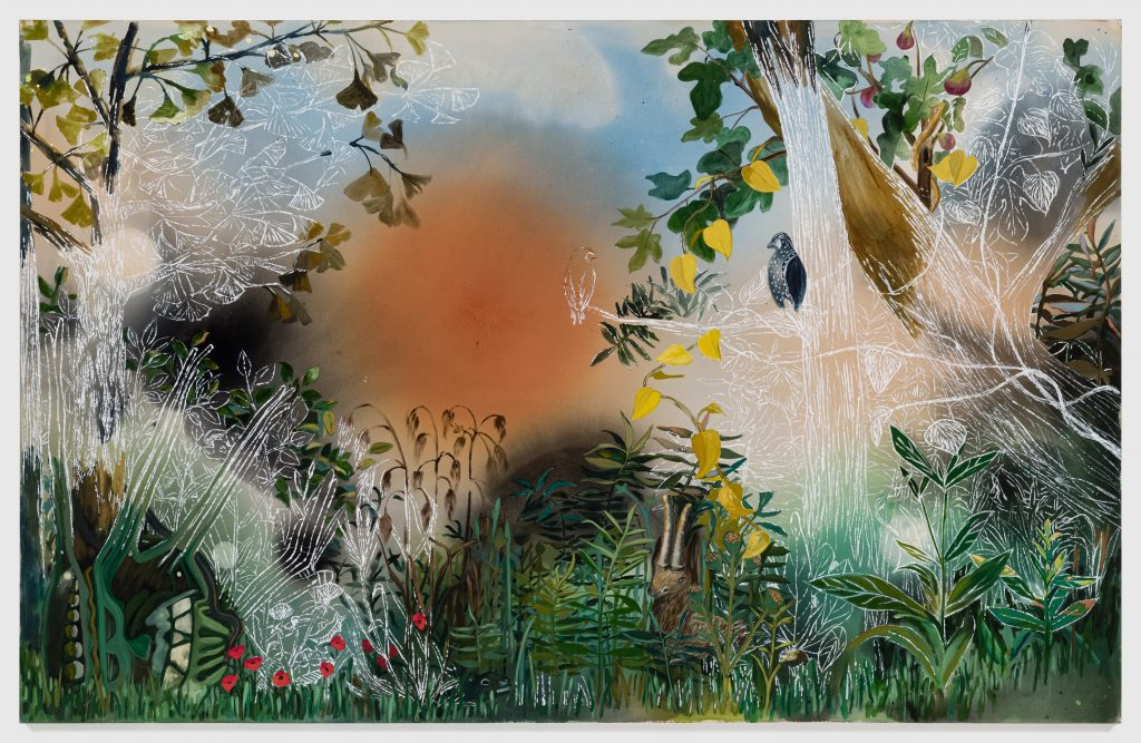 Angelina Gualdoni, <i>The Physic Garden</i> (2021). Courtesy of Asya Geisberg Gallery.