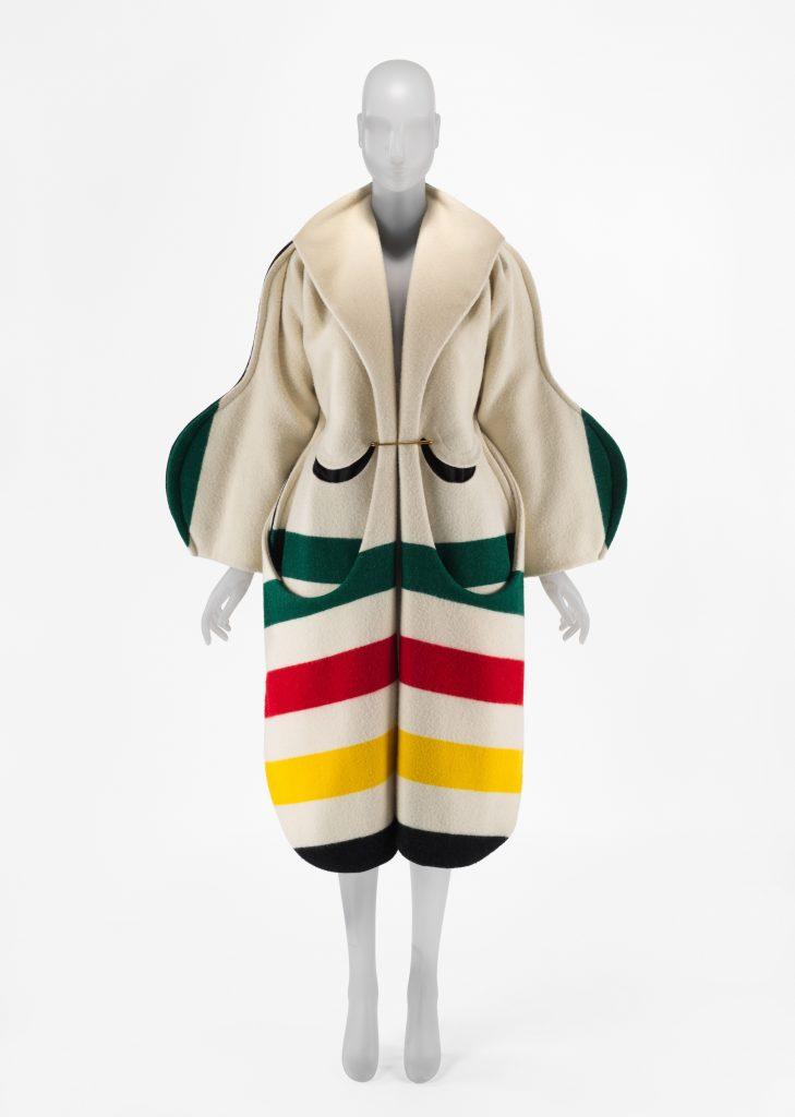 André Walker, Coat, Pendleton Woolen Mills; S/S 2018; Courtesy Andre Walker Studio. Image © Metropolitan Museum of Art.