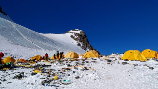 A Museum in the Himalayas Has a Solution for the Tons of Trash Climbers Leave on Mount Everest: Turn It Into Art