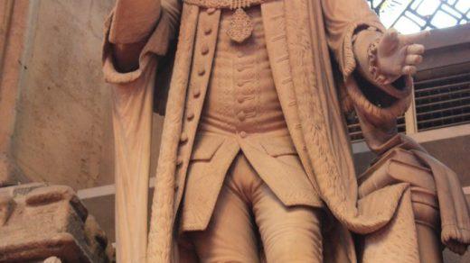 Statue of William Beckford in Guildhall. Photo by Stephen C Dickson via Wikimedia Commons.