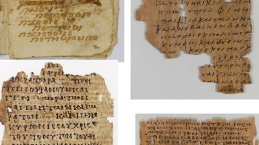 Artifacts returned to Egypt from the Museum of the Bible. Photo: Egyptian Ministry of Tourism and Antiquities.