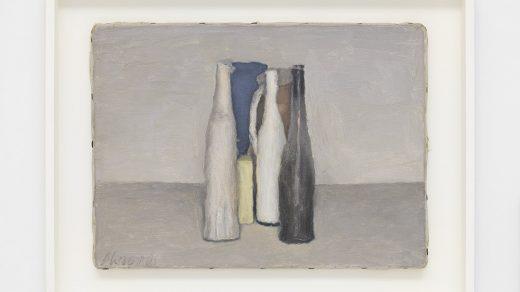 Giorgio Morandi, <i>Natura morta (Still Life)</i> (1957). © Artists Rights Society (ARS), New York/SIAE, Rome. Courtesy David Zwirner.