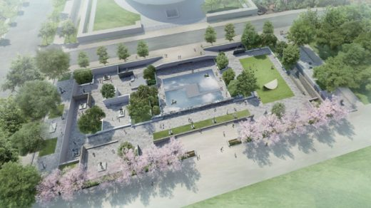 A rendering of Hiroshi Sugimoto's new plan for the Hirshhorn Museum. Courtesy the artist.