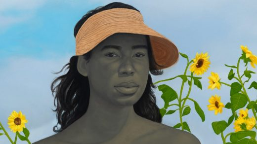 Amy Sherald, <i>A Midsummer Afternoon Dream</i> (detail, 2020). © Amy Sherald. Courtesy the artist and Hauser & Wirth. Photo: Joseph Hyde.