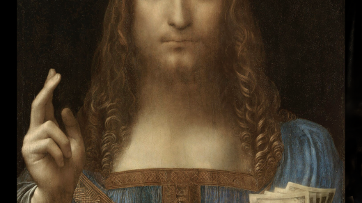 An Art Historian Just Minted an NFT of Salvator Mundi Holding a Fistful of Bills—and He's Hoping to Sell It for $450 Million