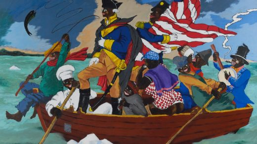 Robert Colescott's Caustic Satire of 'Washington Crossing the Delaware' Is Poised to Reset the Artist's Market at Sotheby's Next Month