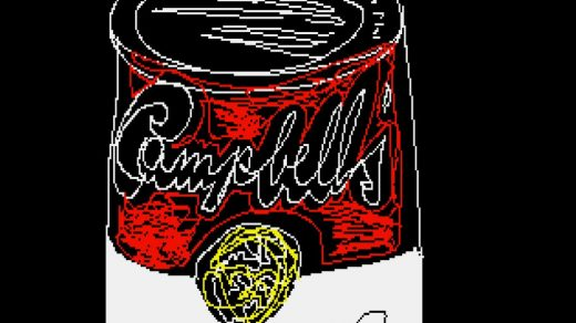 Andy Warhol, Untitled (Campbell's Soup Can) (ca. 1985k, minted as an NFT in 2021). ©The Andy Warhol Foundation.