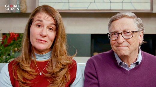 Melinda and Bill Gates in 2020. (Photo by Getty Images/Getty Images for Global Citizen )