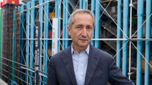 Bernard Blistène. Photo ©Thibauld Chapotot, courtesy Kanal-Centre Pompidou.