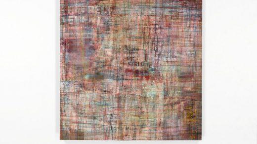 """Mandy El-Sayegh, """"Net-Grid"""" (2020). Photo courtesy Lehmann Maupin."""