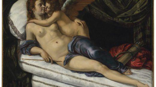 Artemisia Gentileschi, <i>Venus and Cupid</i>. Courtesy Christie's Images Ltd. 2021.
