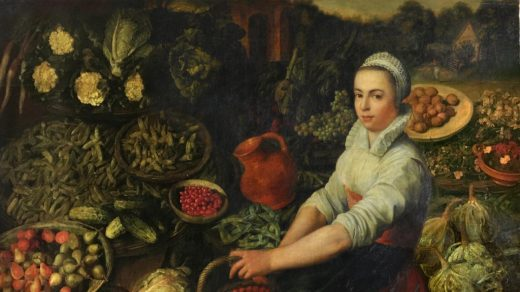 <i>The Vegetable Seller</i>. Photo: Christopher Ison/English Heritage. Courtesy of the Audley End House.