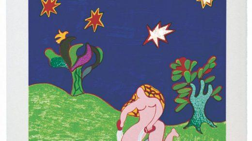 Niki de Saint Phalle. L'Estrella Carta No. XVII (The Star). 1997. © 2021 Niki Charitable Art Foundation