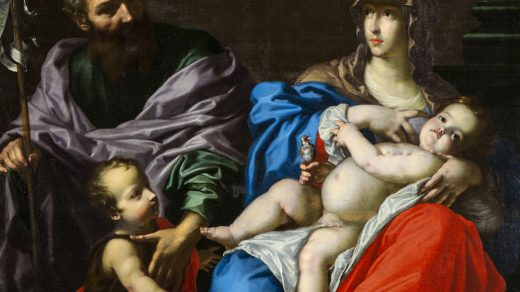 Cesare Dandini, Holy Family with the Infant St. John (circa 1630s) Photo by David Guarino.