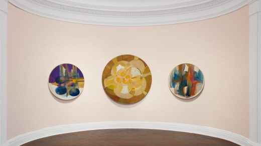 """Installation view, """"Betty Blayton: In Search of Grace."""" Artwork © The Estate of Betty Blayton. Courtesy of Mnuchin Gallery, New York. Photography by Tom Powel Imaging."""