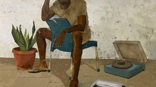 Ojo Ayotunde, <i>Alright</i> (2021). Courtesy of Nyama Fine Art.