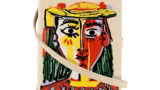 Tête de femme avec un chapeau à pompons, OLT X Picasso.